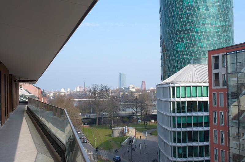 Ein großer Pluspunkt: die zentrale Lage zum Main und die Nähe zum Hauptbahnhof