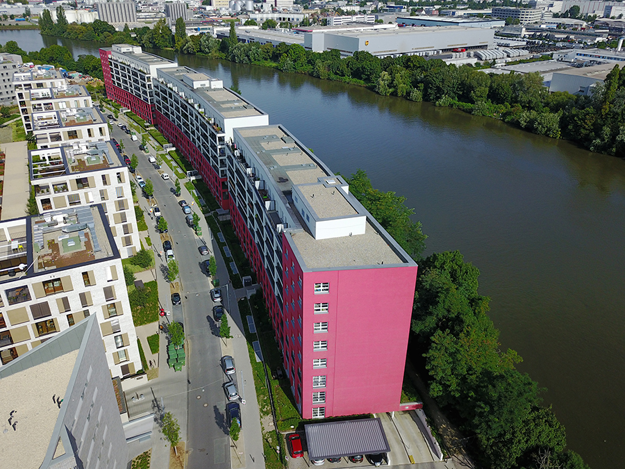 abg frankfurt holding gmbh bauen aktuelle projekte modern in offenbach. Black Bedroom Furniture Sets. Home Design Ideas